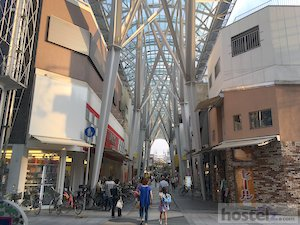 One of Takamatsu's many shopping arcades