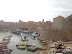 Dubrovnik Old Port, close to Old Town Hostel.