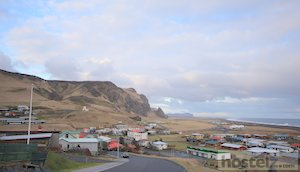 East side of Vik looking from the hill top