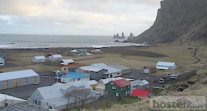 West side of Vik looking from the hill top