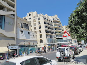 The main strip in Sliema