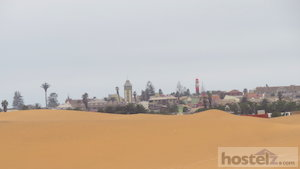 Swakopmund from the Namib Desert