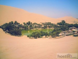 View of Huacachina