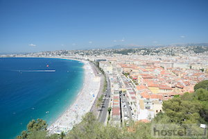 View of Nice from the Chateau