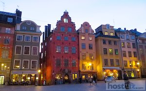 City Square on Gamla Stan near Noble museum