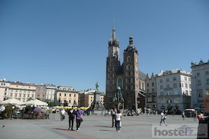 Main square, Old Town, Krakow