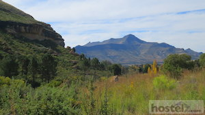 Views over Clarens