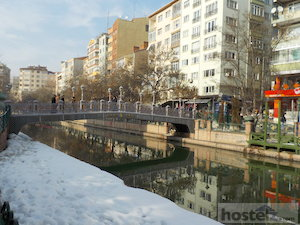 Downtown Eskisehir, by the Porsuk River