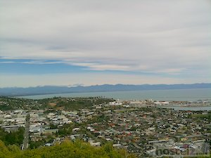View of Nelson from the Centre of New Zealand