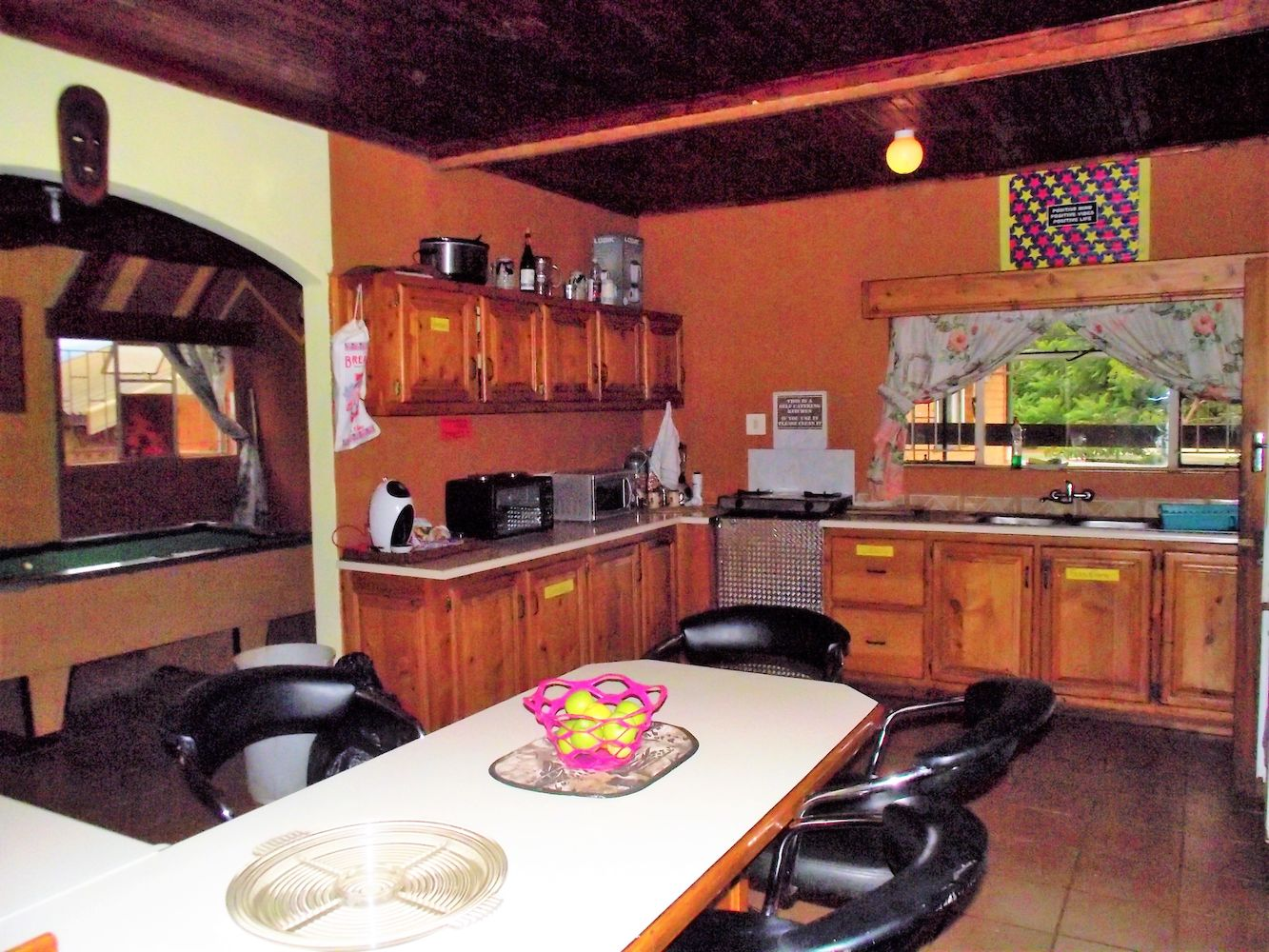 Communal fully equipped Kitchen