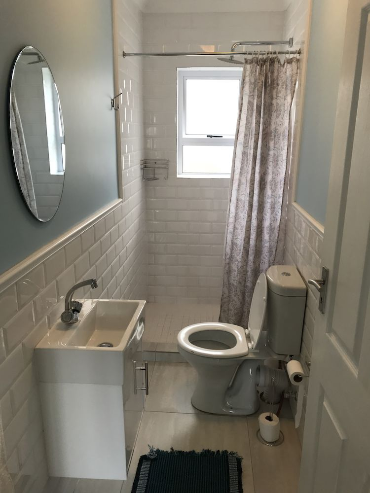 Shared bathrooms in house