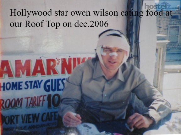 Hollywood Star Owen Wilson on Amar Niwas Roop-Top