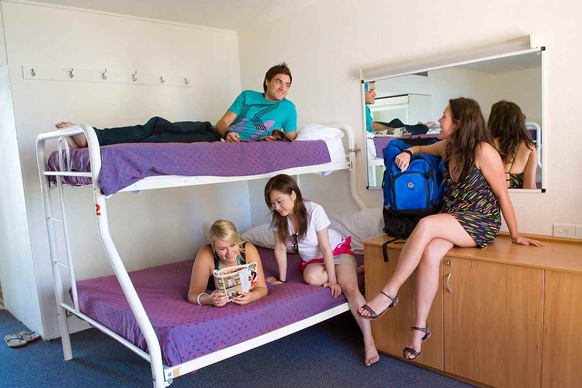 Backpacker 4,5 or 6 share dorm
