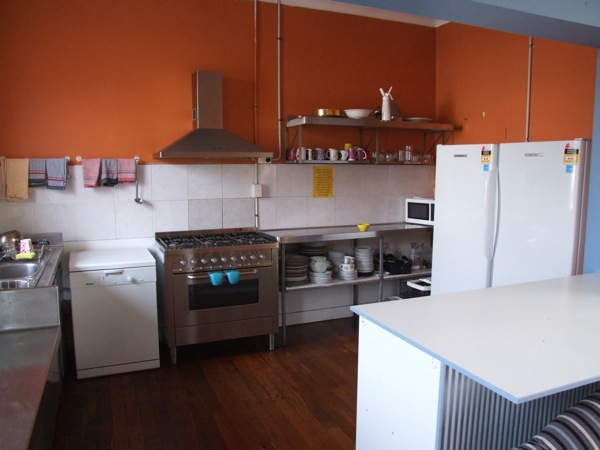 One of our two quality kitchens, kept clean and maintained all day every day.