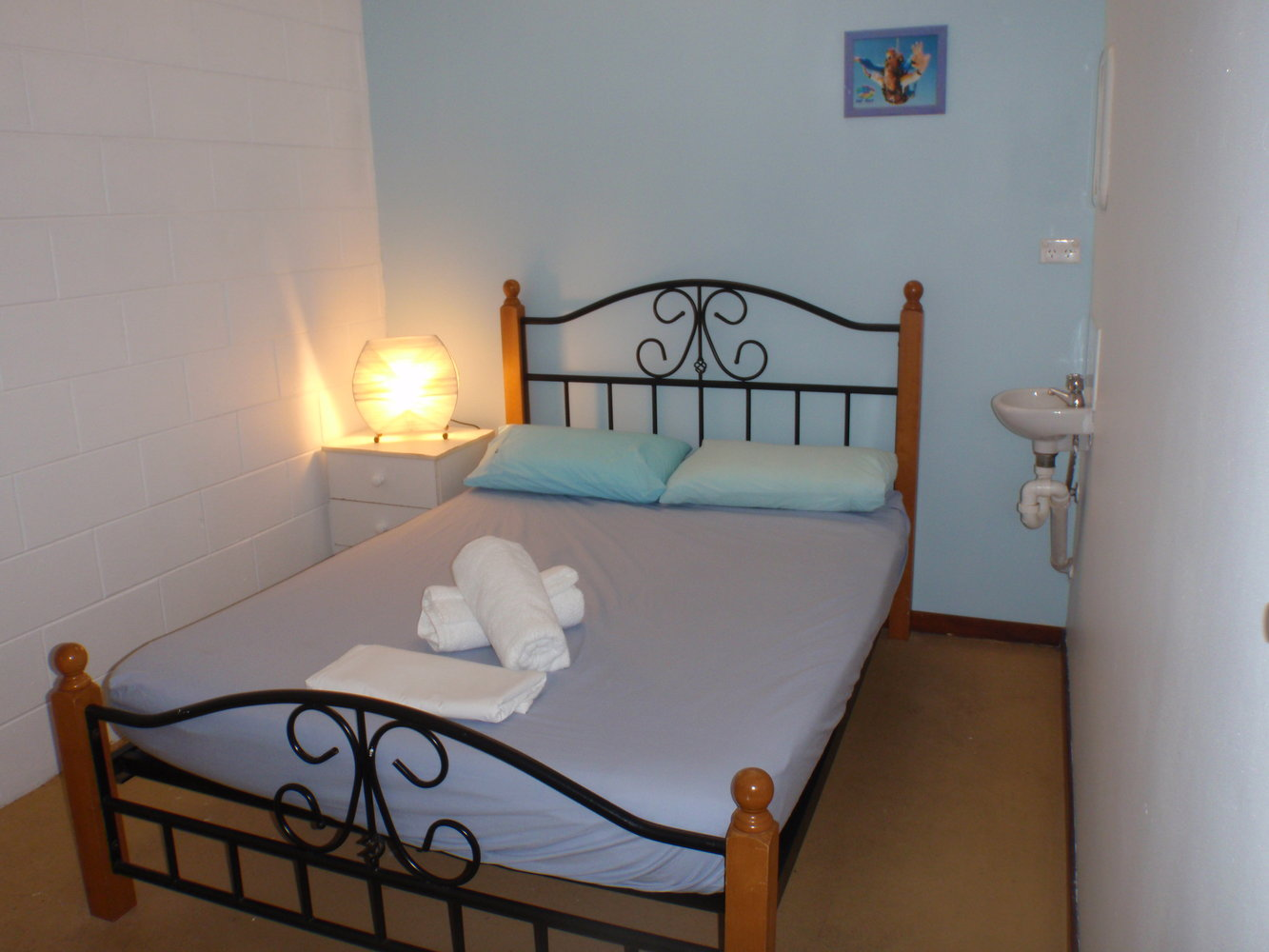 Clean, renovated rooms and linen included