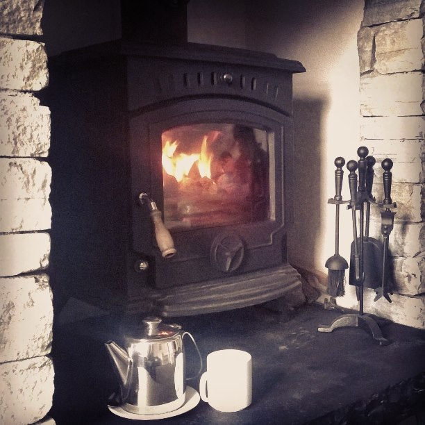Enjoy a lovely cup of tea in front of the fire in our snug room