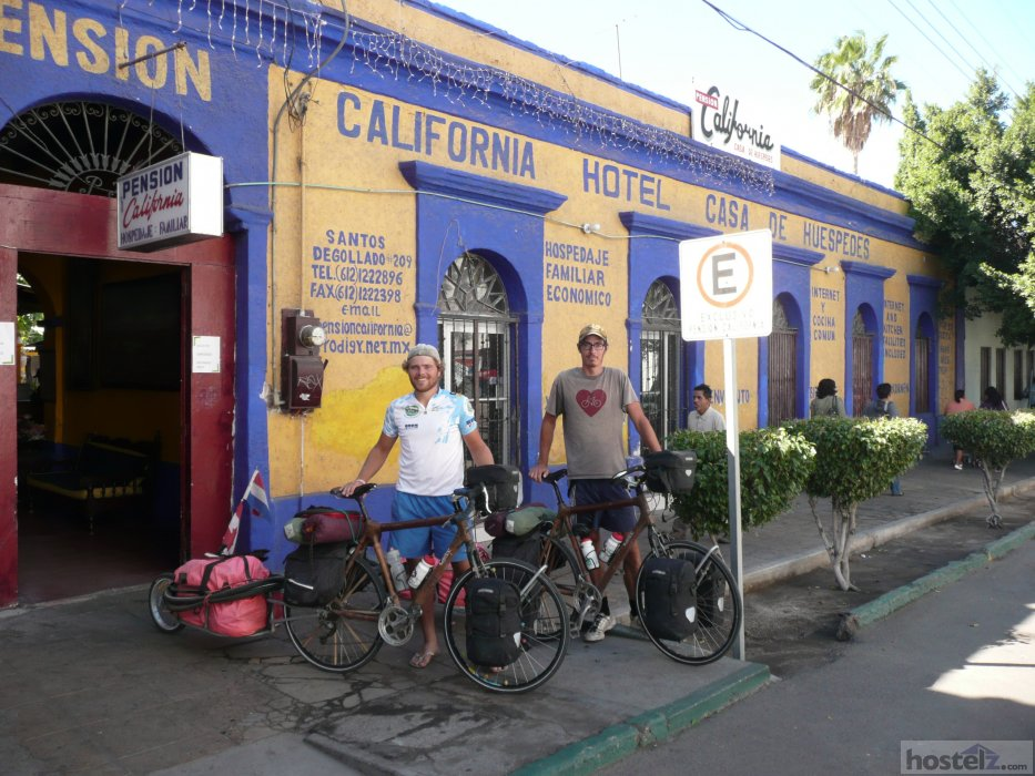 pension california - la paz  mexico reviews