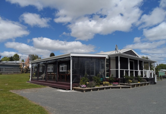 Lake Maraetai Lodge Side View