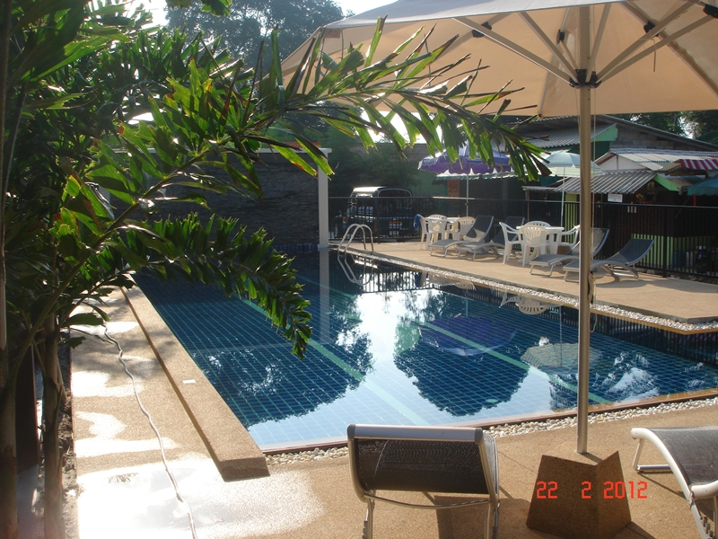 Swimming Pool & Sundeck
