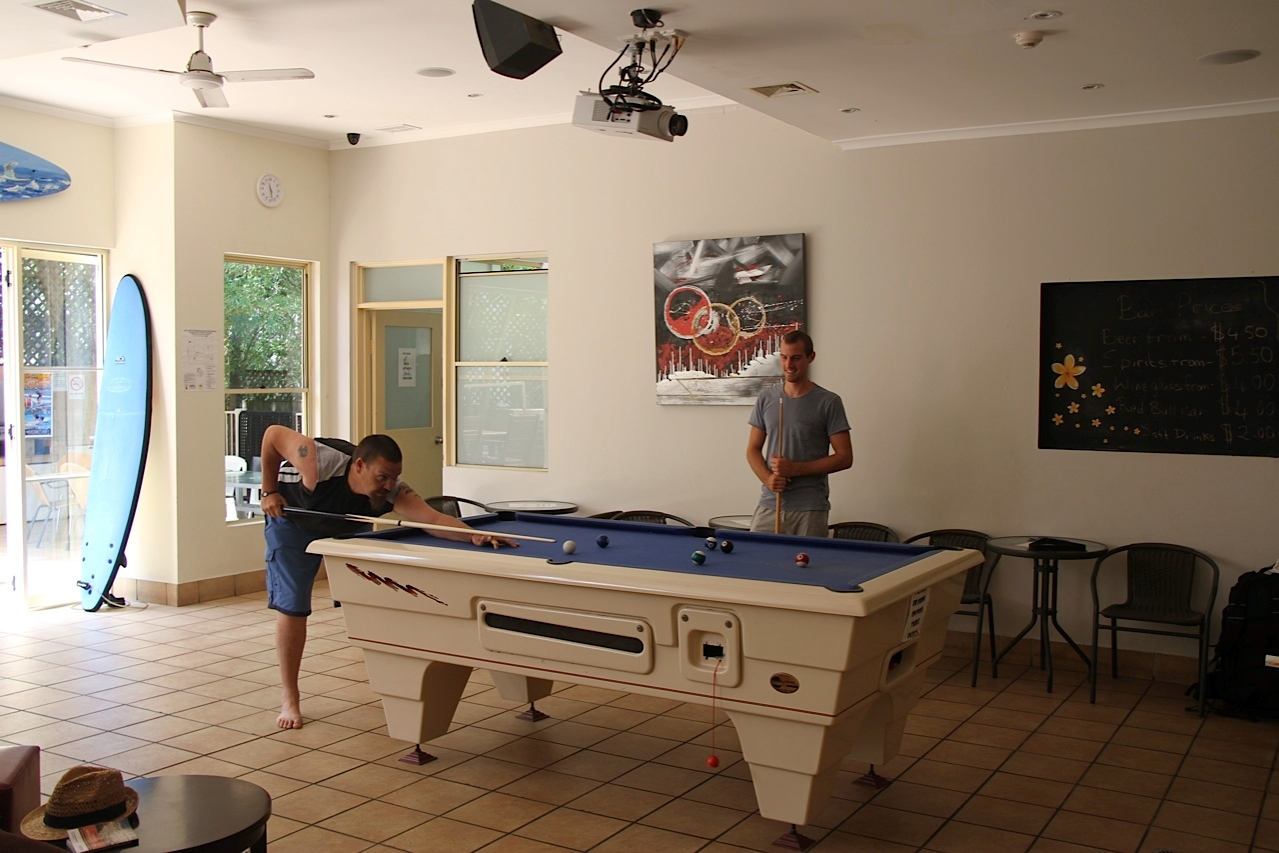 Free Pool Table use
