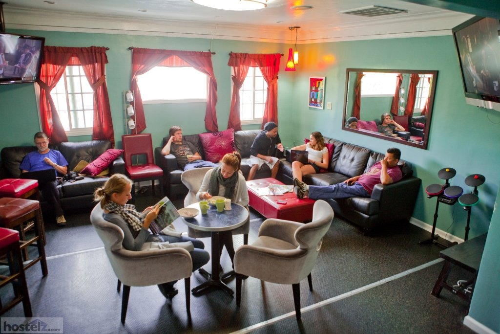 Our relaxing lounge is the site of many late night activities