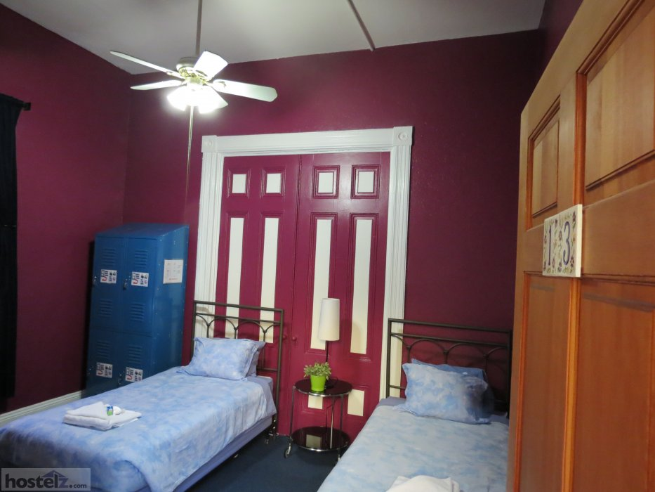 We have full bed, twin bed and bunk bed privates