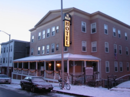 Prescott International Hotel Hostel Boston Machusetts
