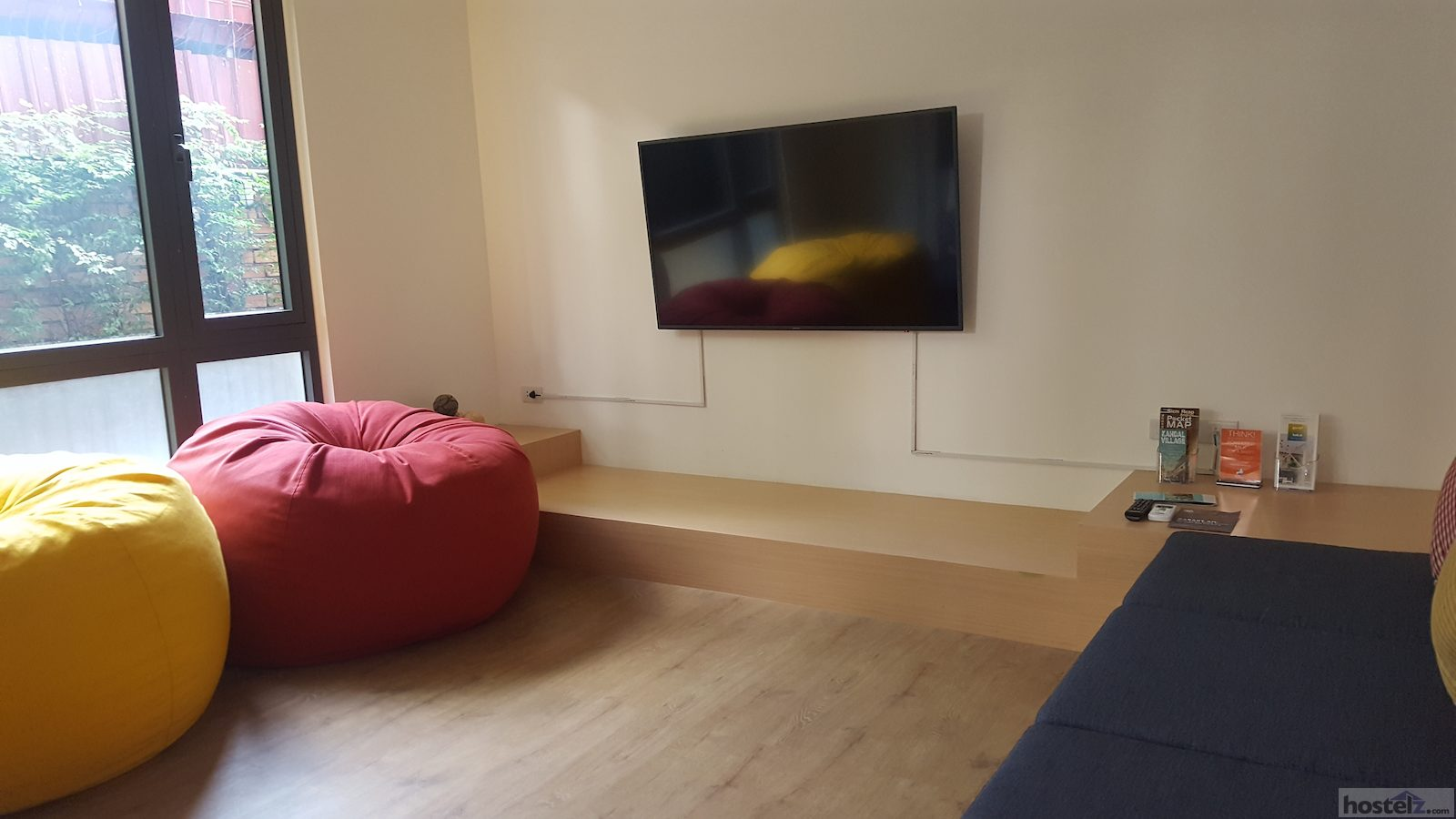 Air conditioned chill out TV room