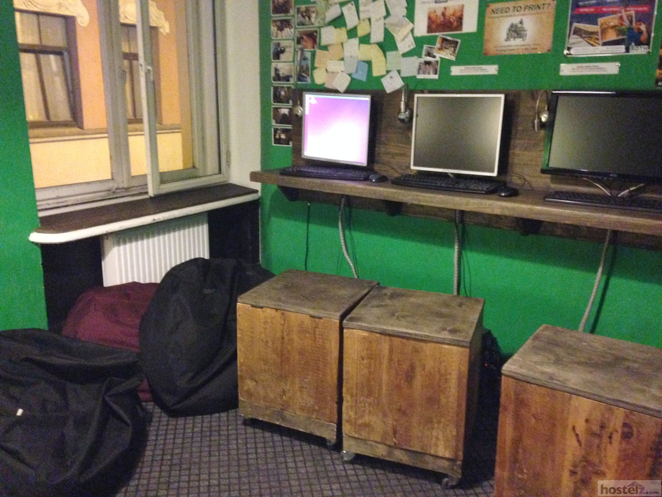 Computers in main common area