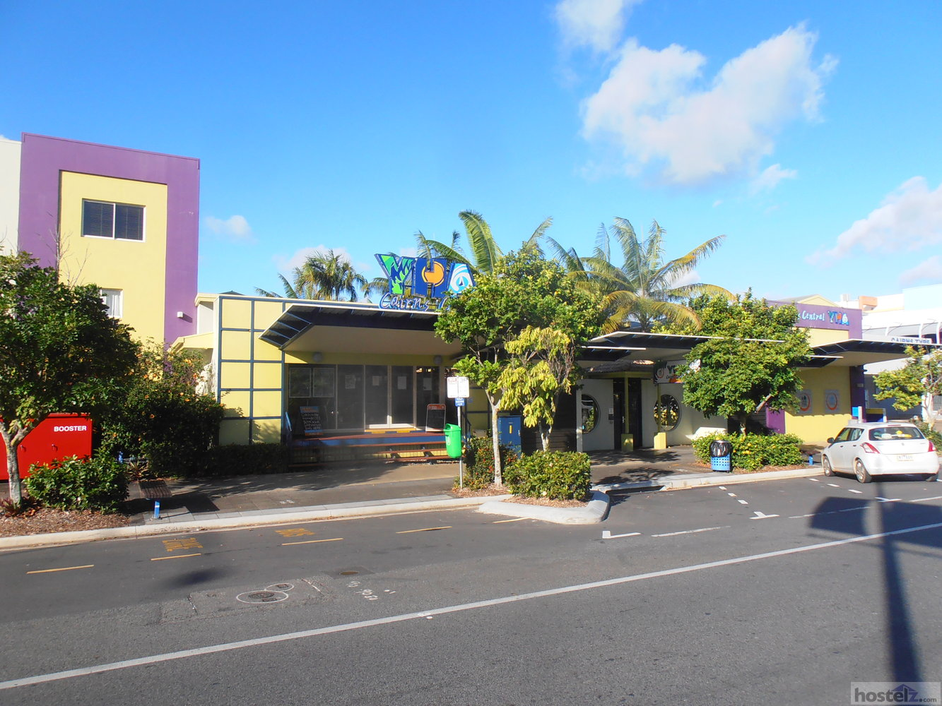 Street view of Cairns Central YHA