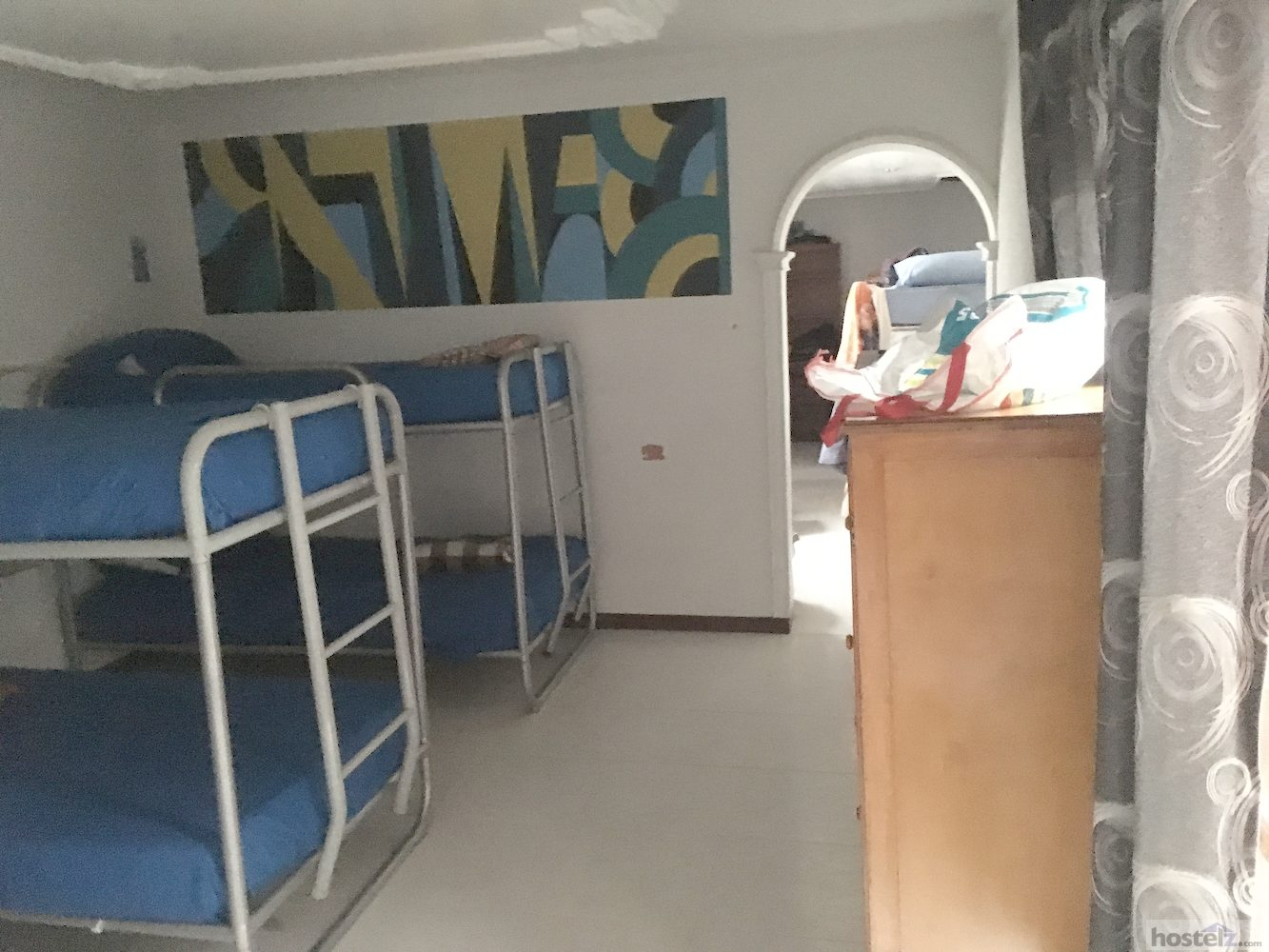 One of the upstairs dorm rooms