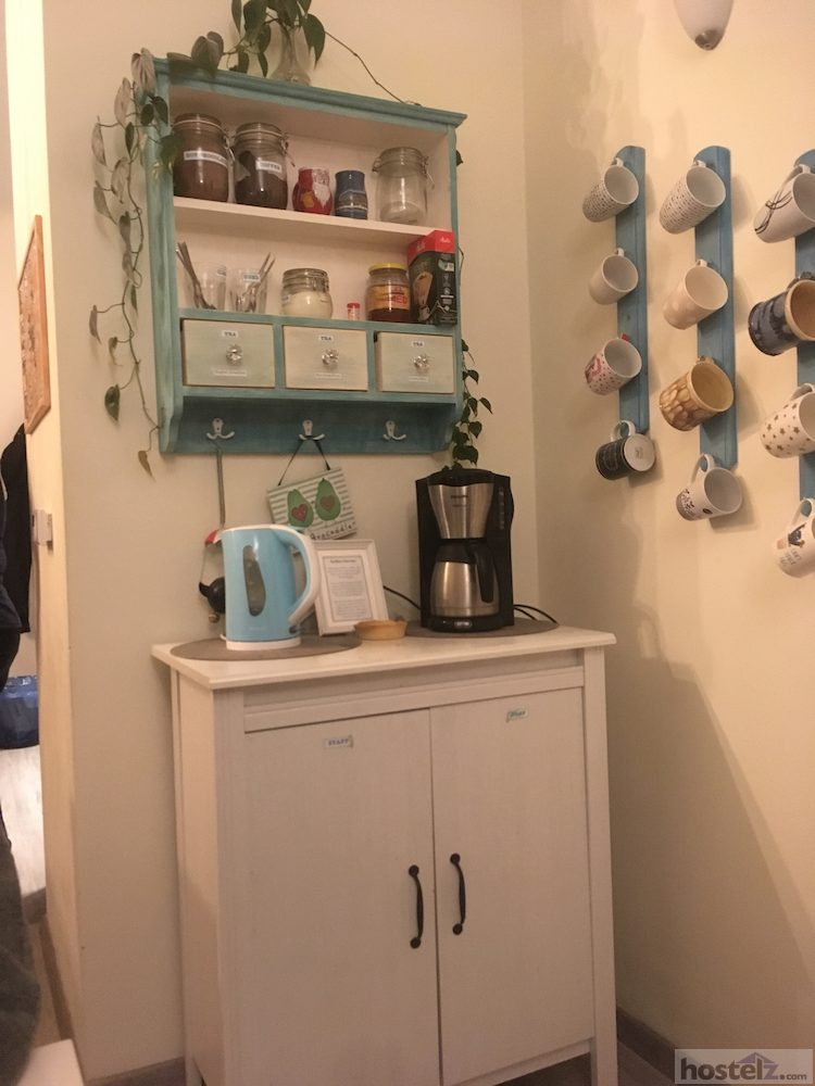 Included tea/coffee station