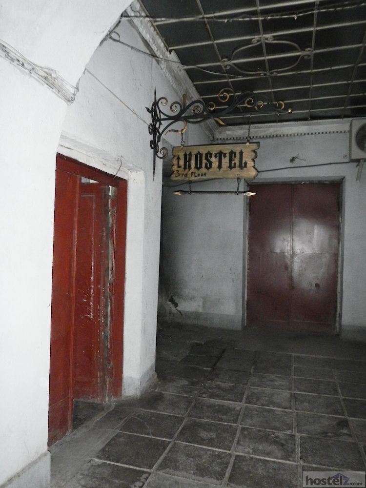 entrance to stairway