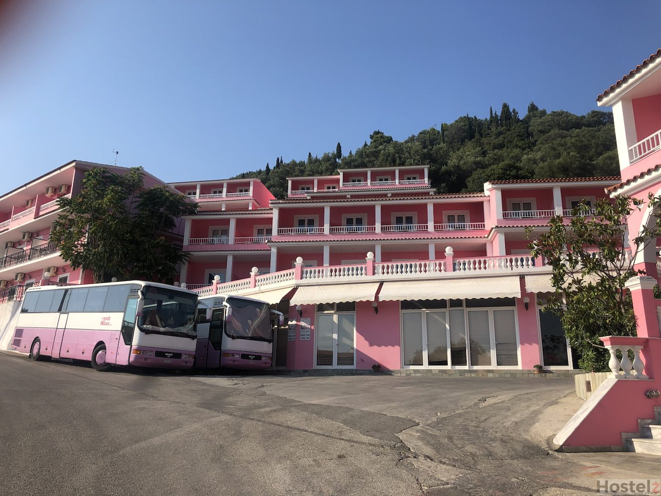 The Pink Palace, Corfu