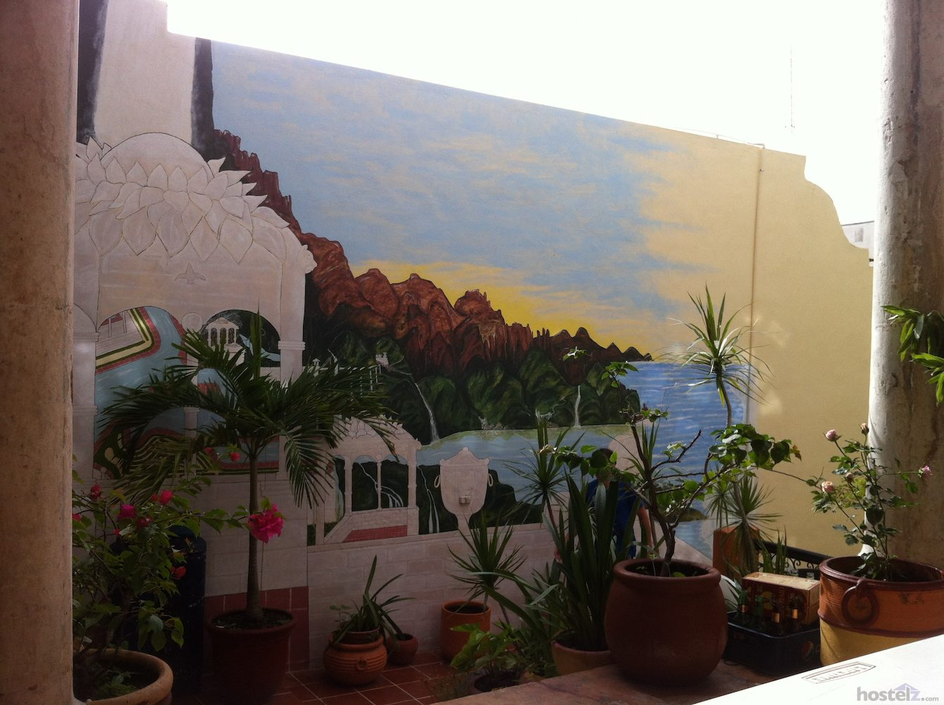 Painting in the communal area
