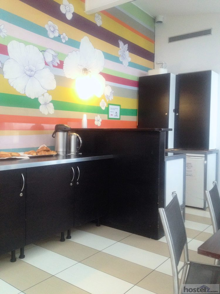 Common area & small kitchenette
