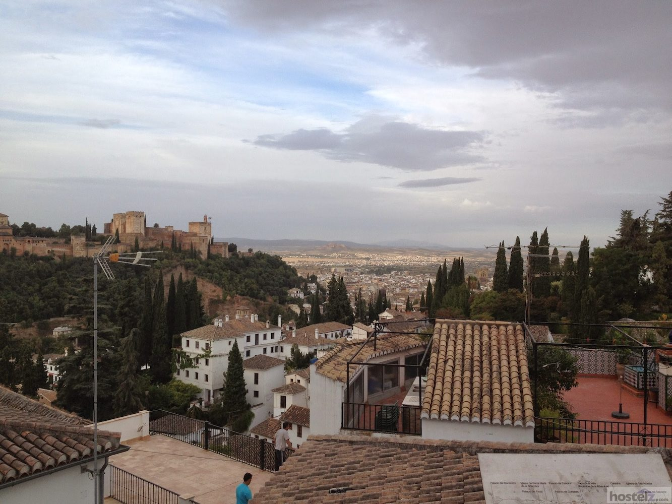 Alhambra views from the patio