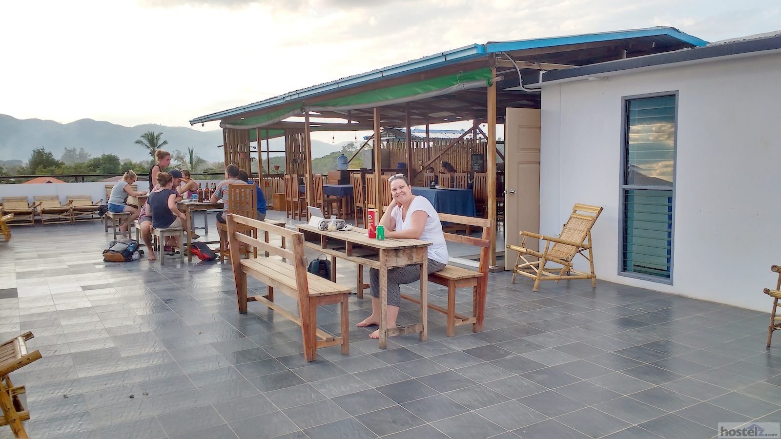 Rooftop terrace and bar