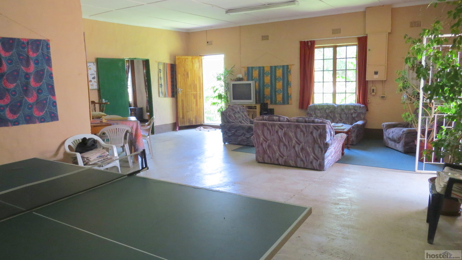 Sitting Room with Table Tennis