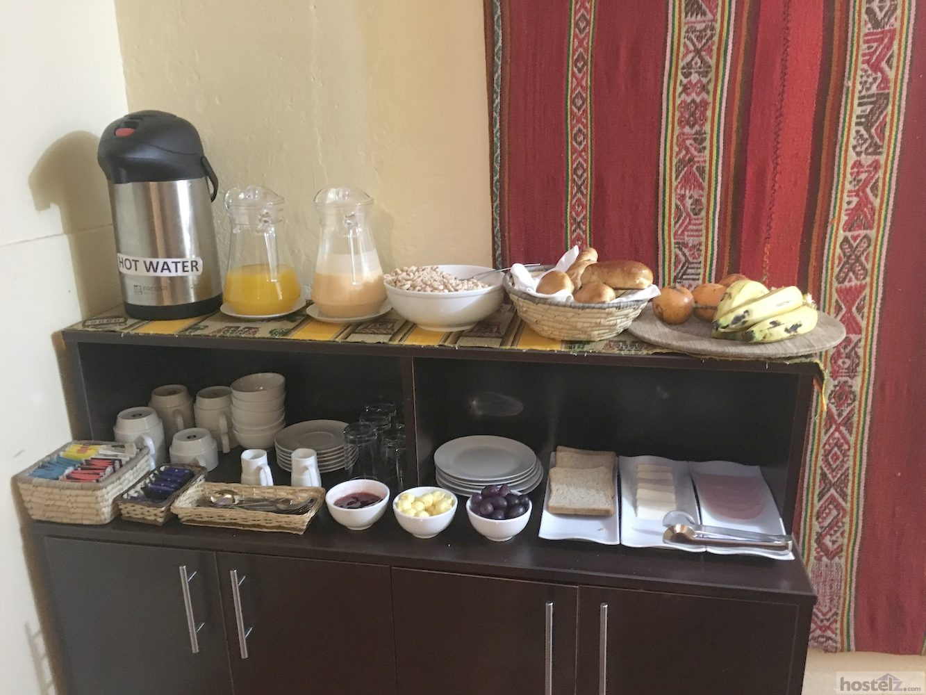 Buffet breakfast from 4am till 7am